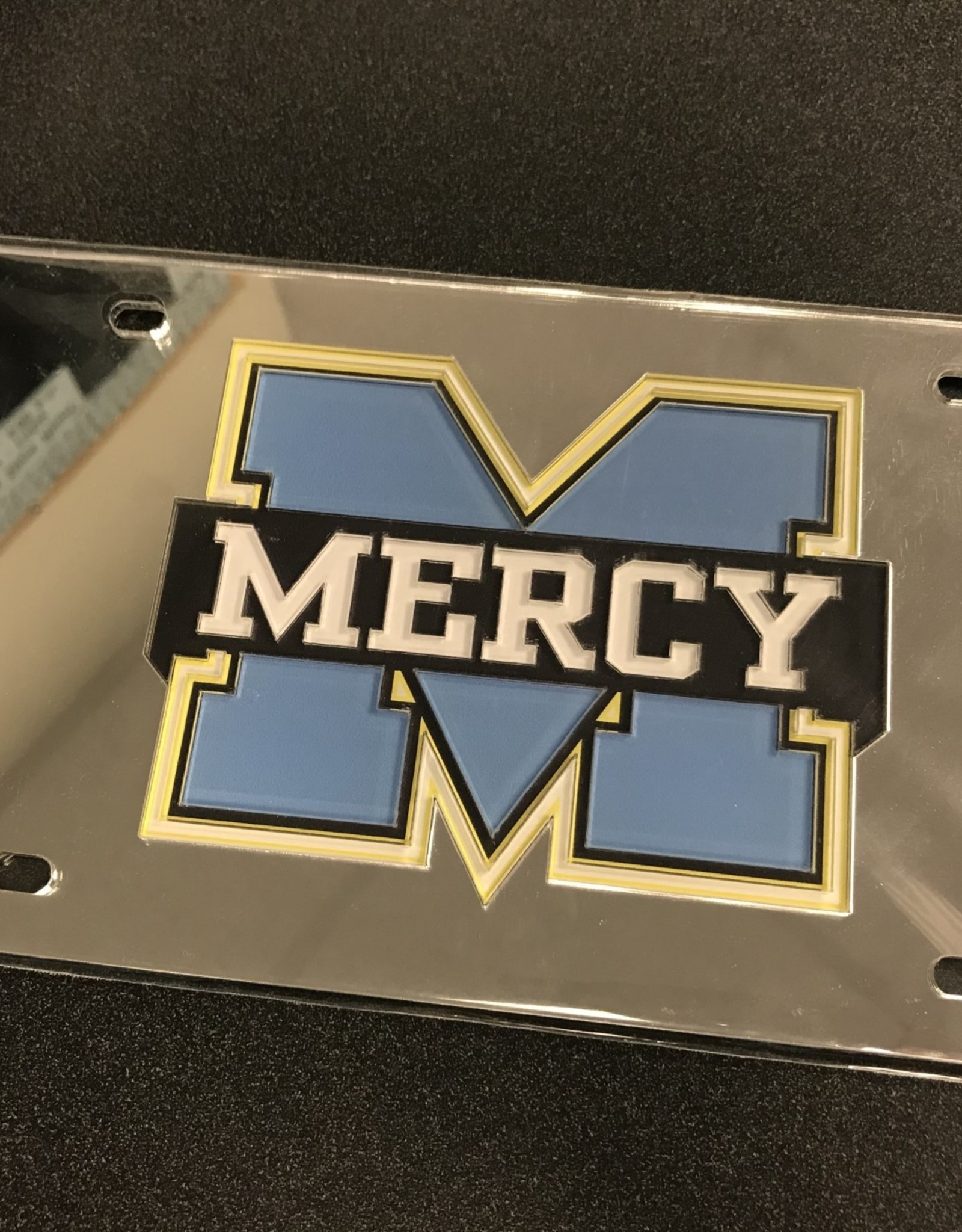Mercy License Plate