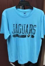 Jaguars Paw Print Short Sleeve T-Shirt