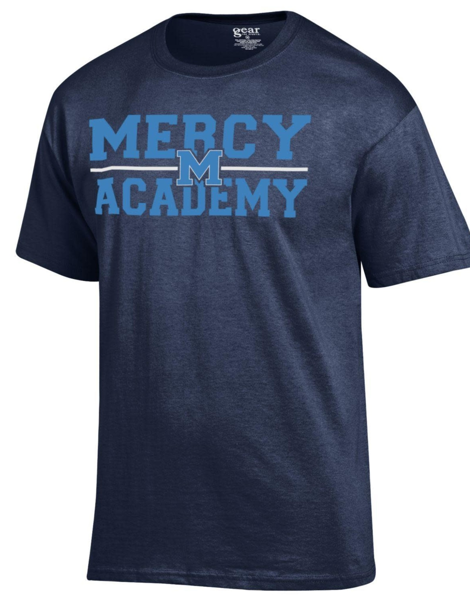 Gear for Sports Mercy Jaguars Navy Tee
