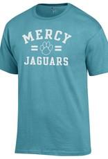 CHAMPION Mercy Jaguars Paw Print T-Shirt