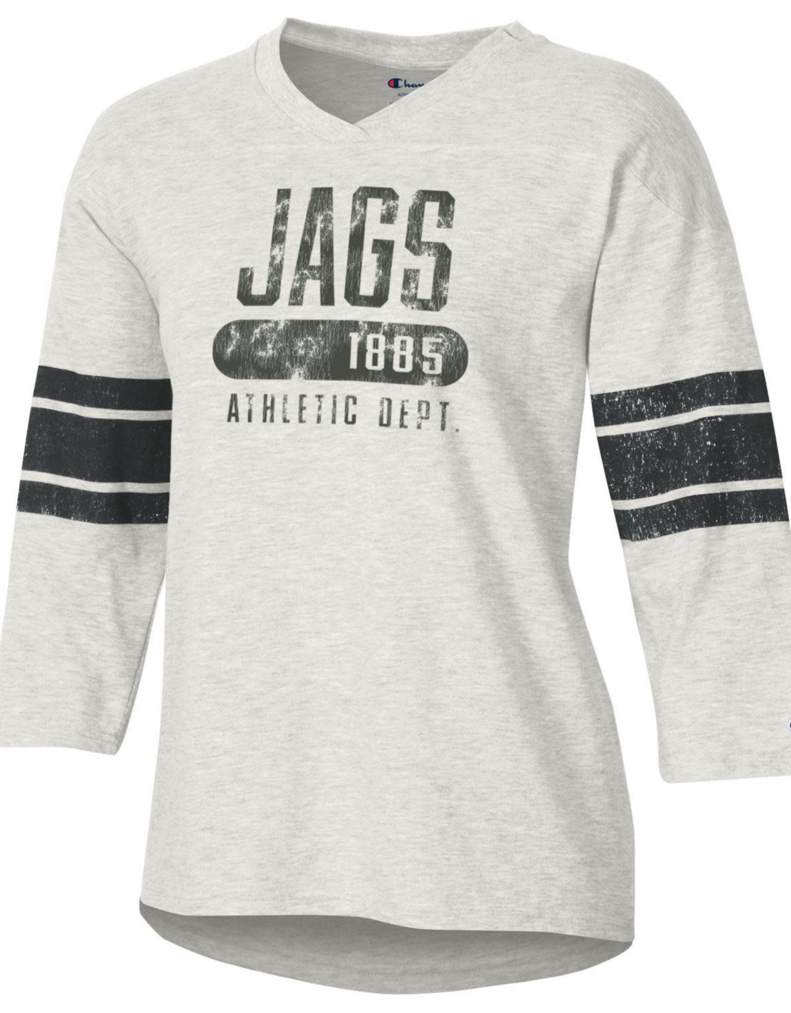 Jags Athletic Dept. 3/4 sleeve Football Tee