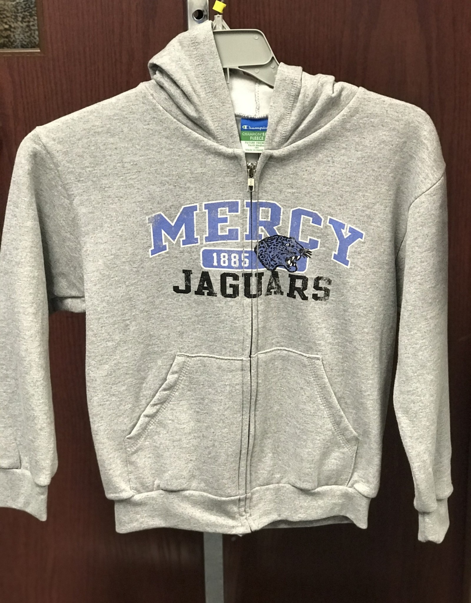 Mercy Jaguars Youth Full Zip Hoodie