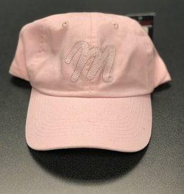"""Mercy """"M"""" Pink Hat"""