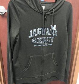 Mercy Academy Full Zip Black Hoodie
