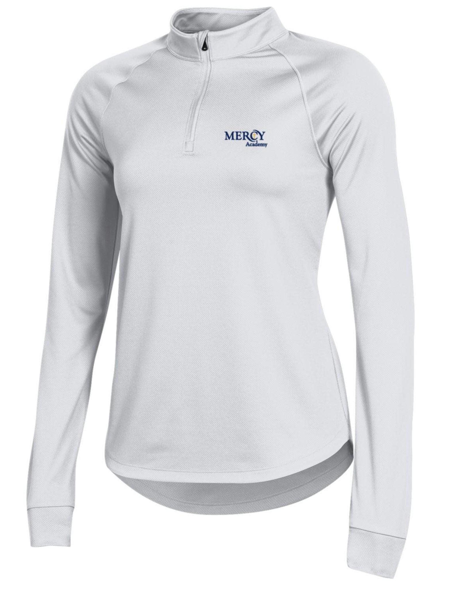 UNDER ARMOUR Uniform Under Armour Quarter Zip - White