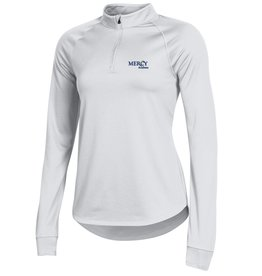 UNDER ARMOUR Uniform Under Armour Quarter Zip - White