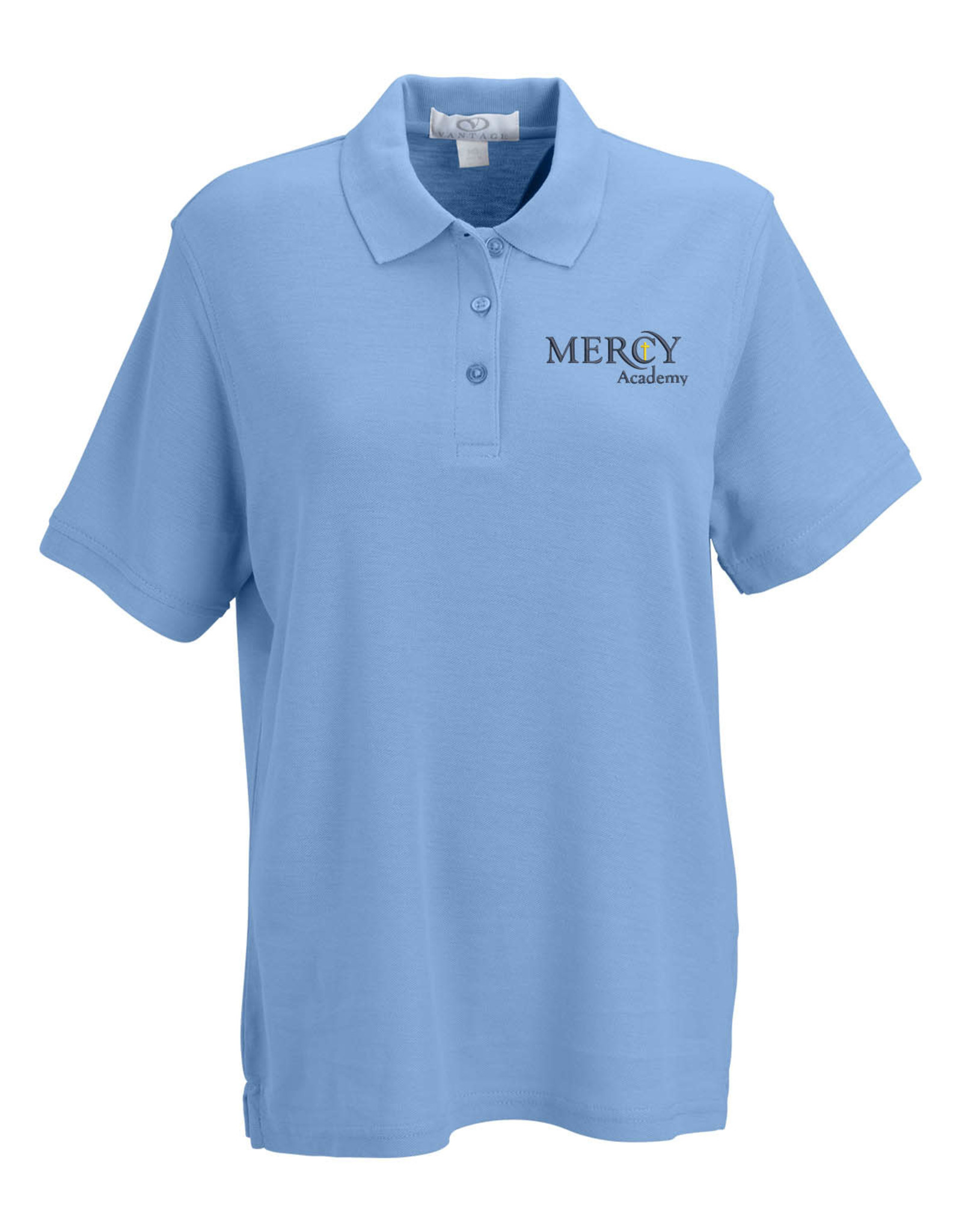 VANTAGE Uniform Polo Short Sleeve - Blue