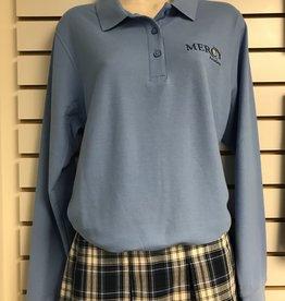 VANTAGE Uniform Polo Long Sleeve - Blue