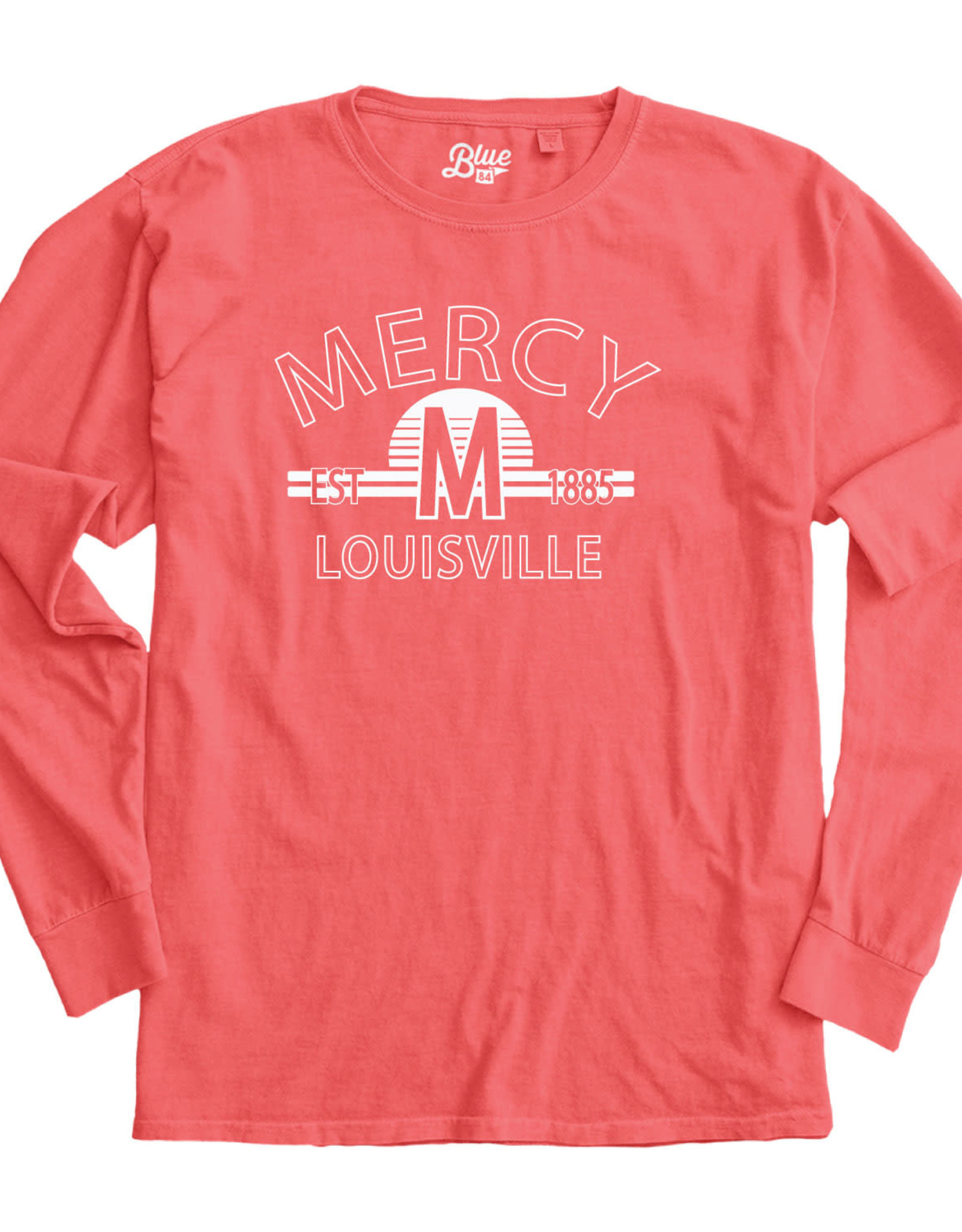 "Mercy Academy Est. 1885 ""M"" Long Sleeve T-Shirt"