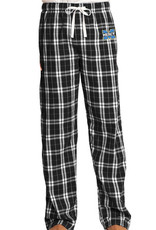 District Mercy Pajama Pants with Embroidered Logo
