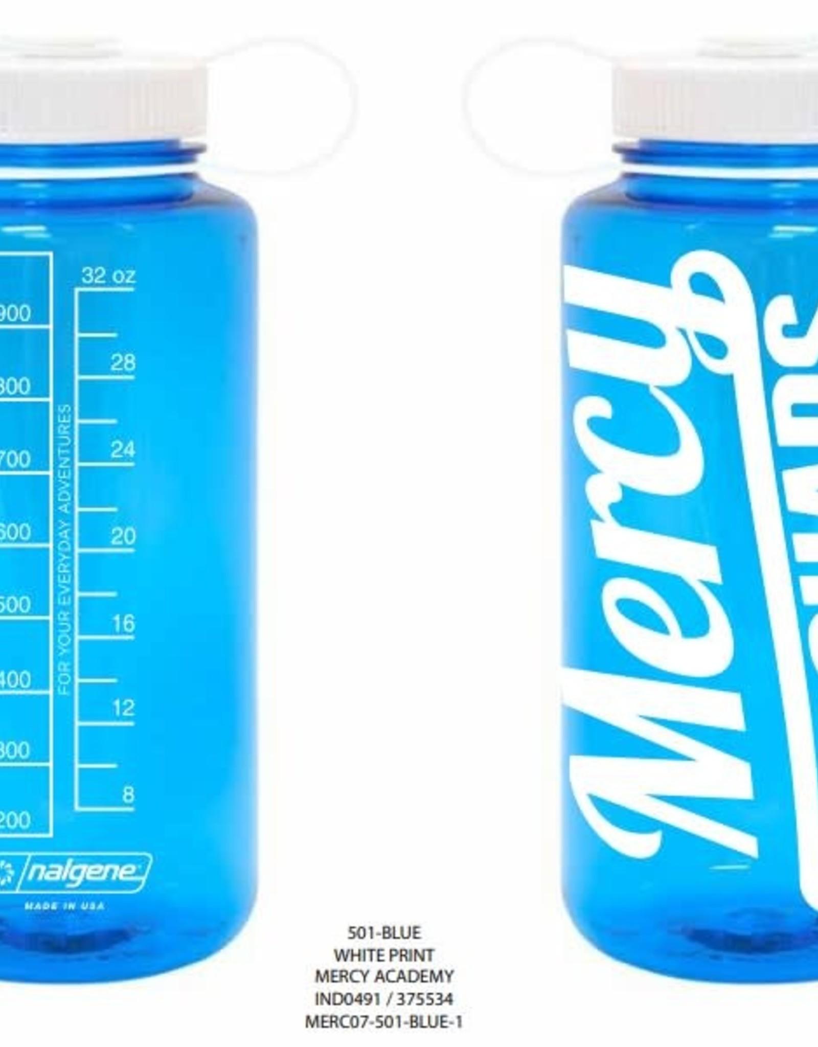 Nalgene Mercy 32 oz. Blue Nalgene Tritan Widemouth Water Bottle