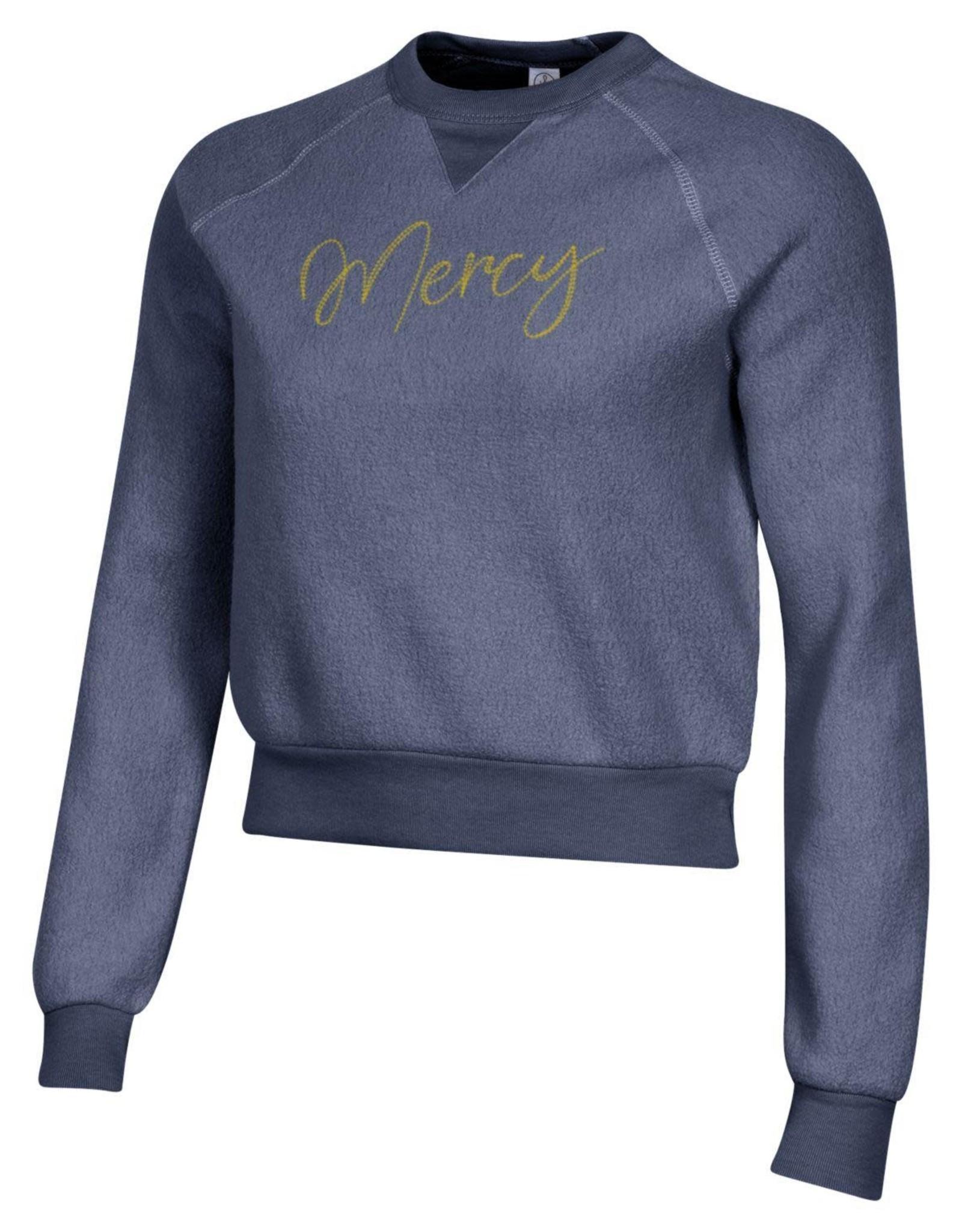 Alternative Apparel Mercy Script Teddy Sweatshirt