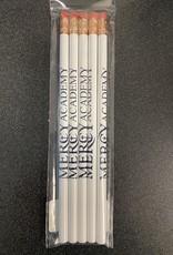 Jardine Associates Mercy White Pencil 5 Pack