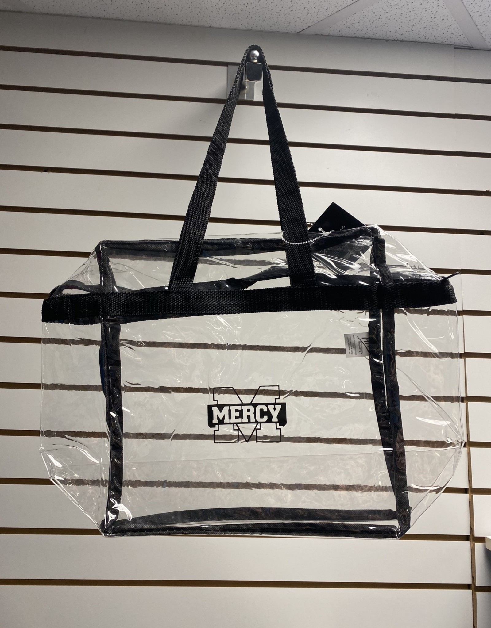 Jardine Associates Clear Mercy Tote Bag