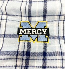 boxercraft Blue Mercy Pajama Pants with Embroidered Logo