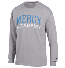 CHAMPION Mercy Academy Arched Long Sleeve Tee