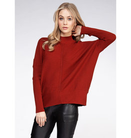 Dex L/SLV MOCK NECK SWEATER