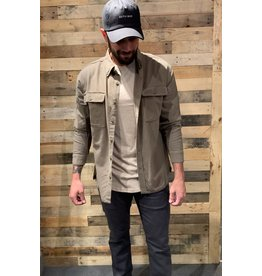 Rusty Spinnin Linen Long Sleeve Shirt