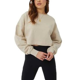 Kuwallatee Slouch Cropped Crewneck