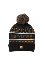 Ten Tree Cabin Beanie (Meteorite Black/Rubber Brown)