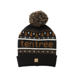 Ten Tree Cabin Beanie (Meteorite Black/Rubber Brown)