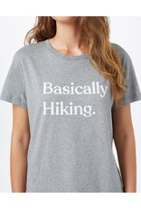 Ten Tree W Basically Hiking Boyfriend T-Shirt (Heather Grey)