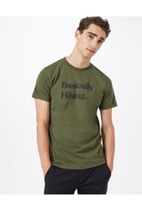 Ten Tree M Basically Hiking Classic T-Shirt (Olive Night Green)