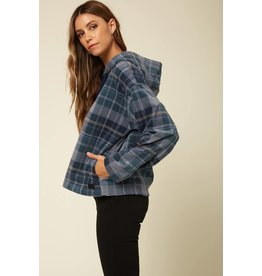O'Neill HAMPTON SUPERFLEECE FLANNEL TOP