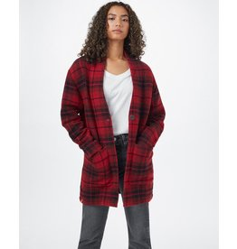 Ten Tree Flannel Cocoon Cardigan