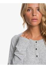 Roxy Take It Home Cosy Long Sleeve Sweatshirt