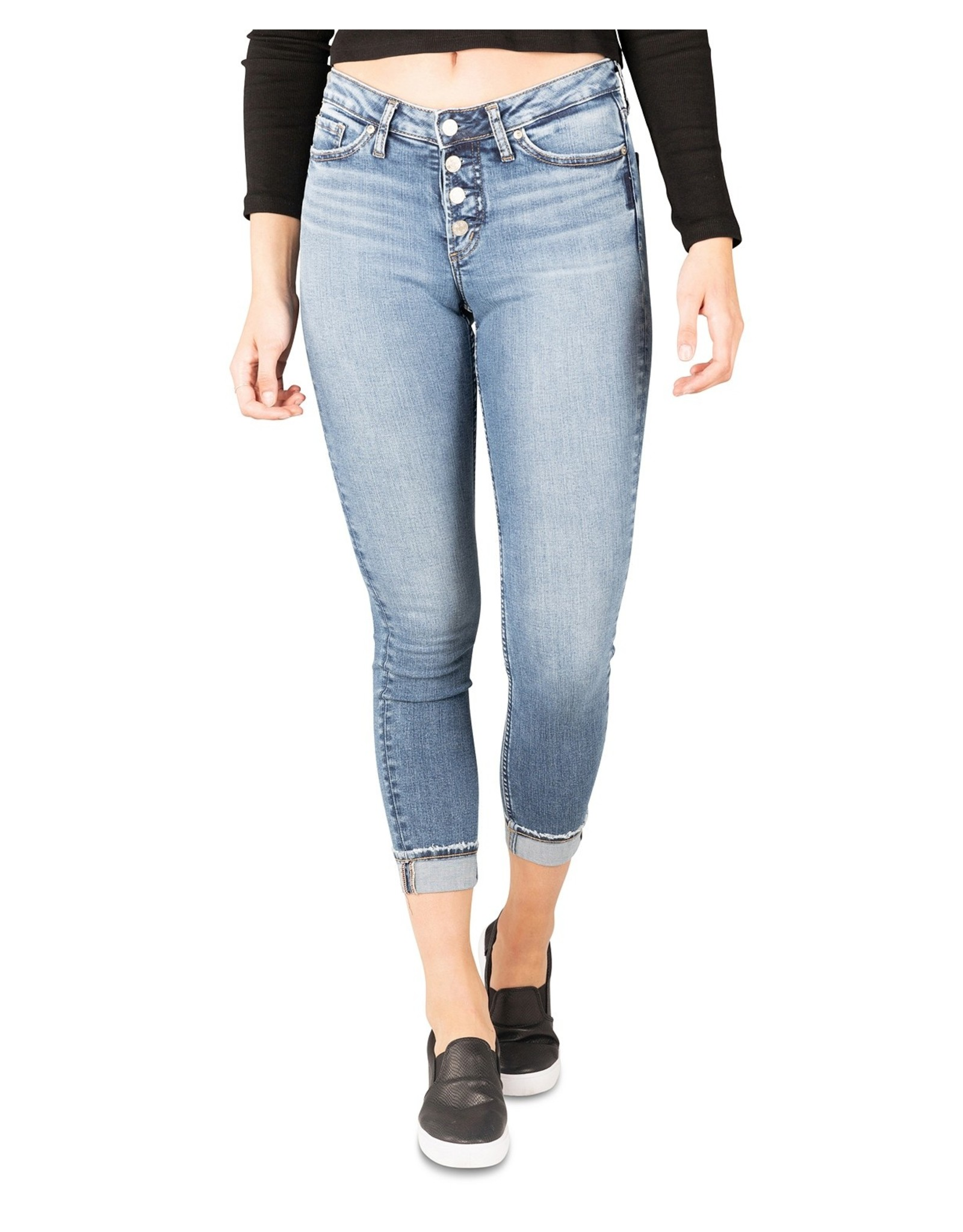 Silver Jeans Most Wanted Mid Rise