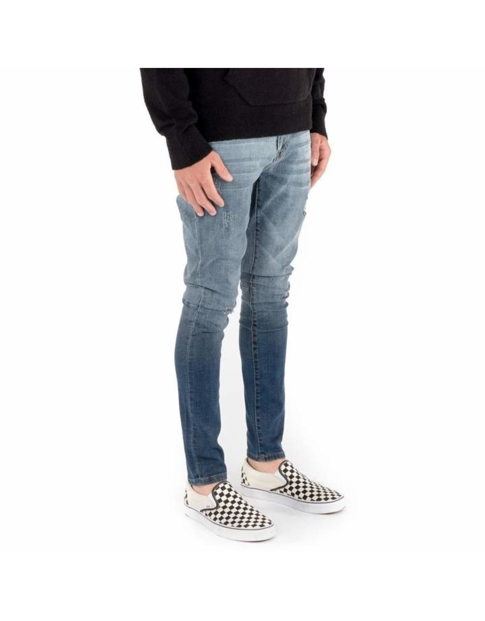 Kuwallatee Essential Distressed Denim Jeans