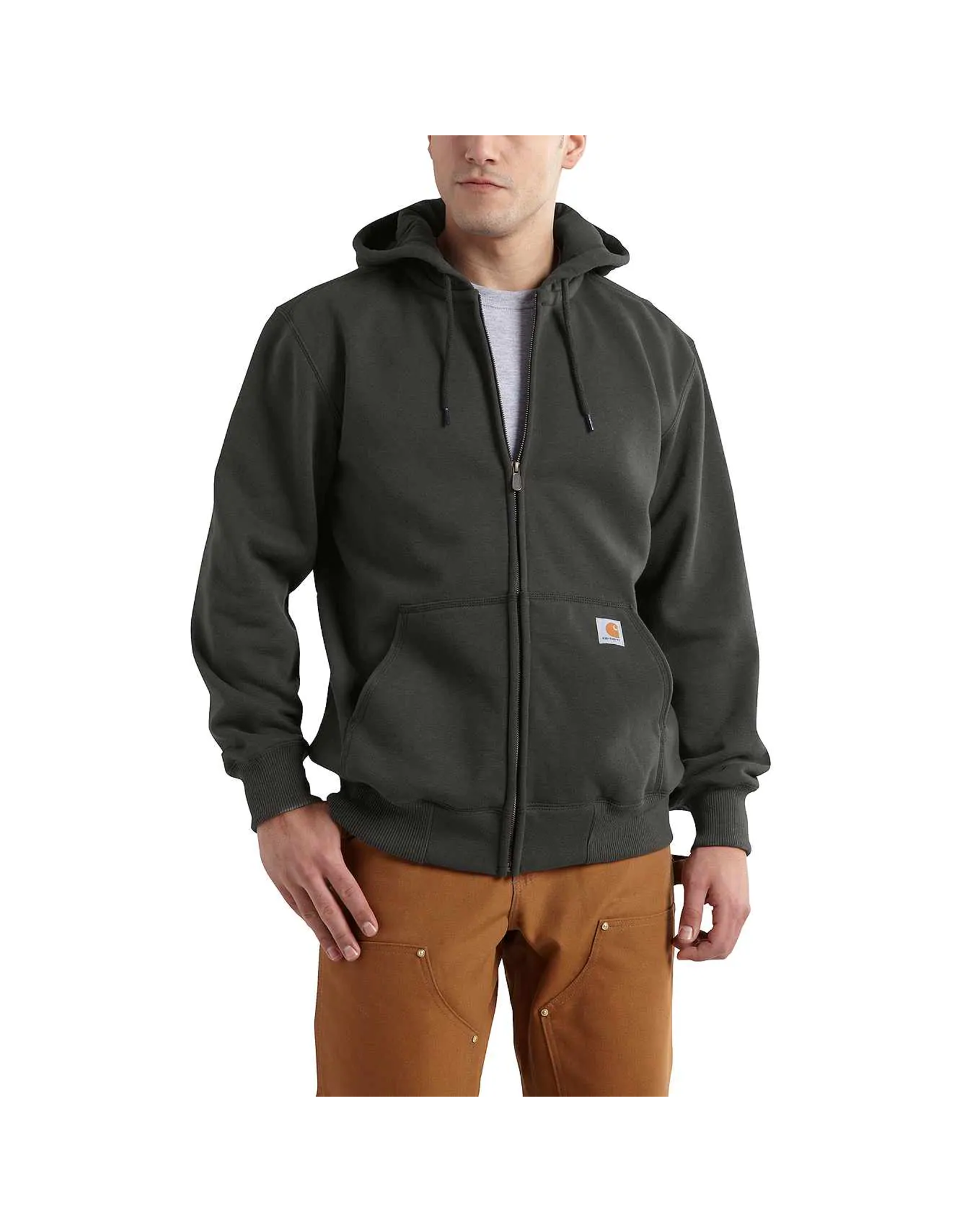 RAIN DEFENDER® PAXTON HEAVYWEIGHT HOODED ZIP-FRONT SWEATSHIRT