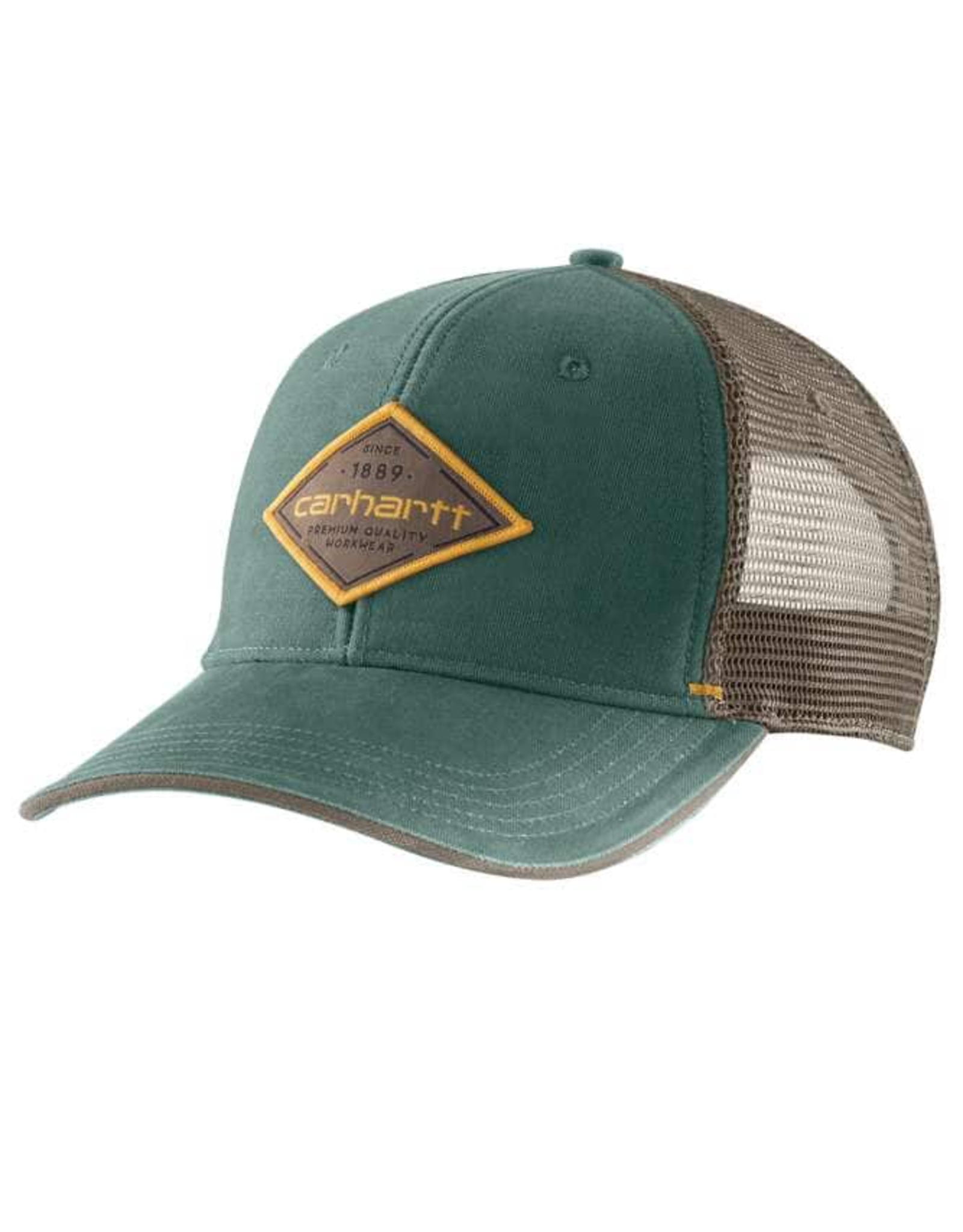 RUGGED FLEX® CANVAS MESH-BACK FITTED LOGO GRAPHIC CAP