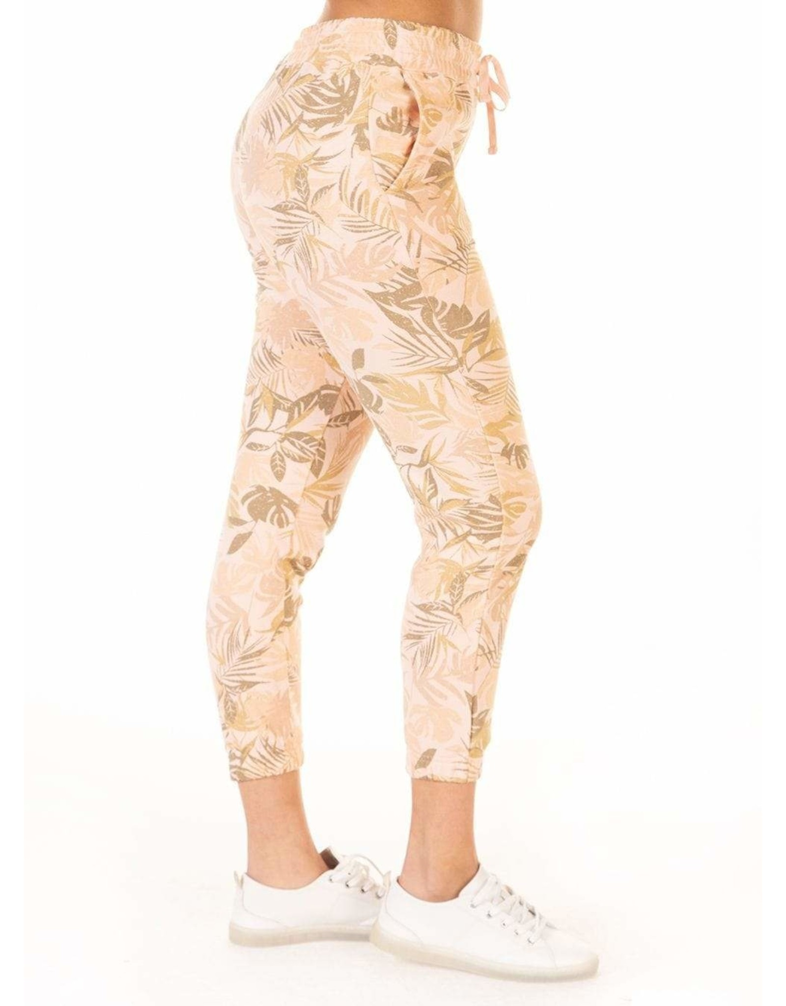 Dex PRINTED FADED PALM JOGGER