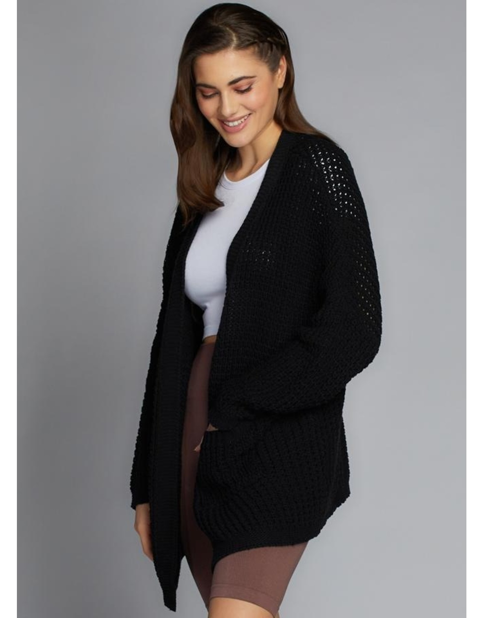 C'est Moi Knit Over Sized Cardigan
