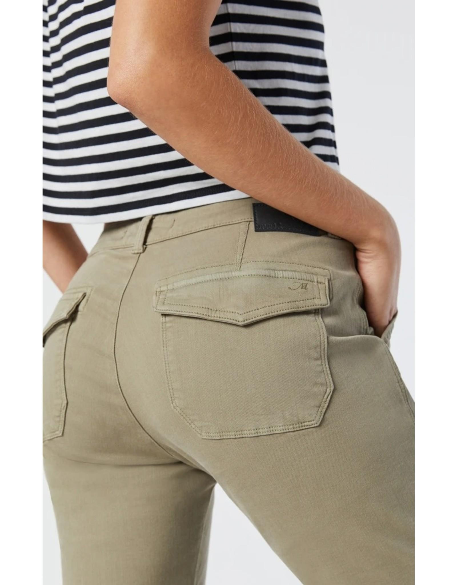 Mavi Ivy Vetiver Twill Cargo Pants