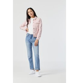Mavi Katy Burnished Denim Jacket