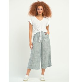 Dex PULL ON WIDE LEG STRIPED PANTS