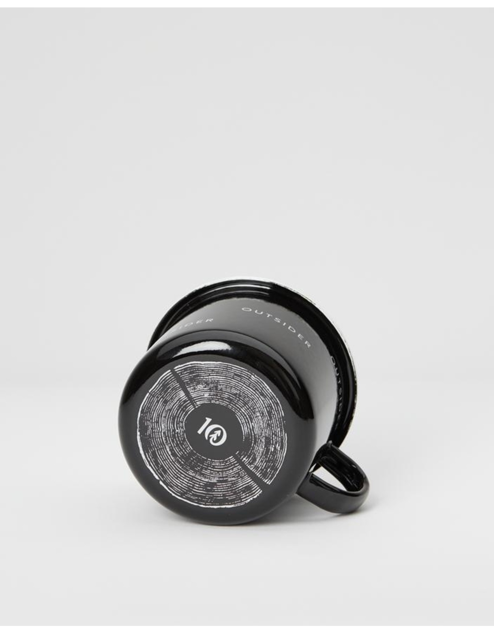 Ten Tree Enamel Camp Mug (Meteorite Black)