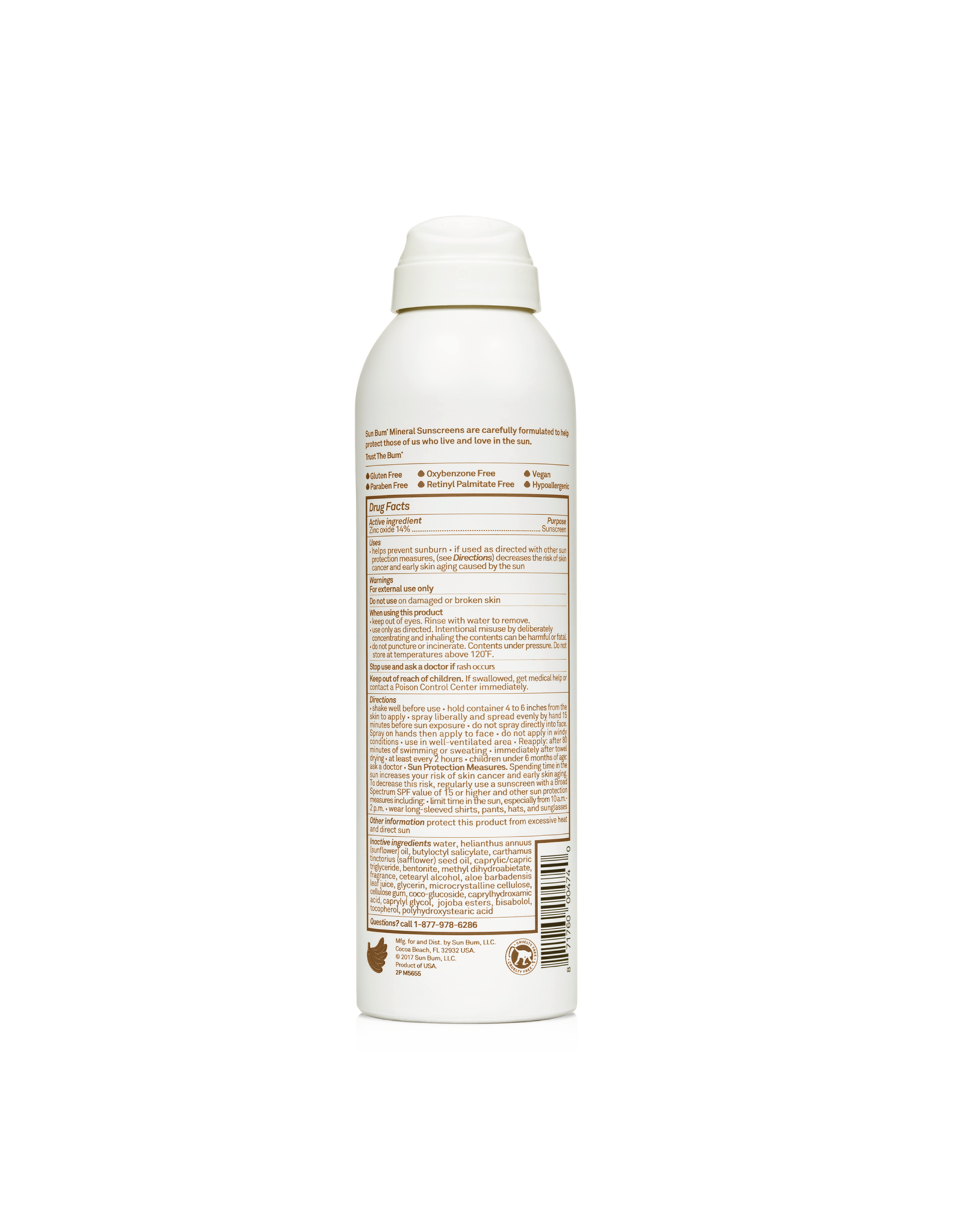 Sun Bum Mineral Spray 30