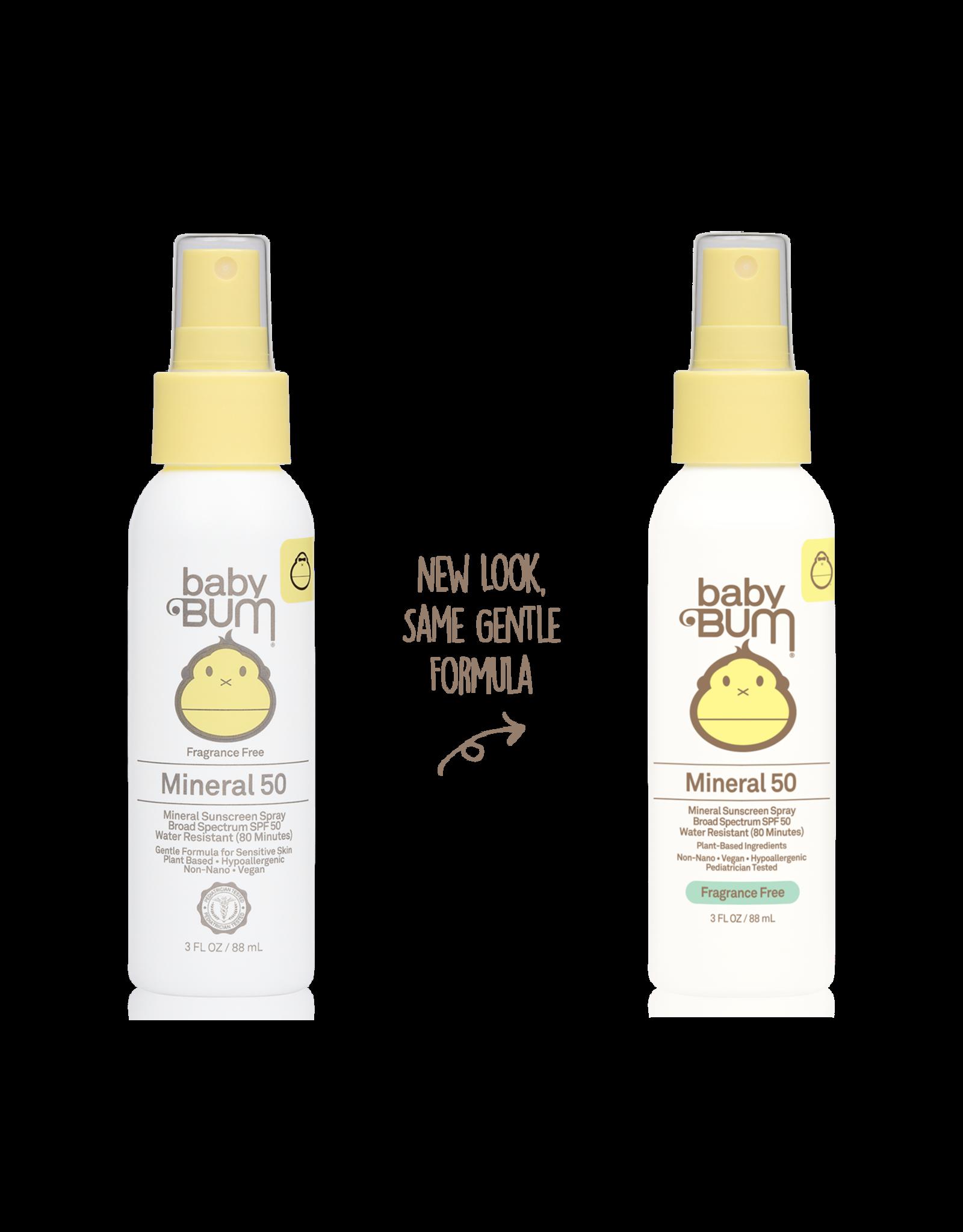 Sun Bum Mineral SPF 50 Sunscreen Spray-Fragrance Free