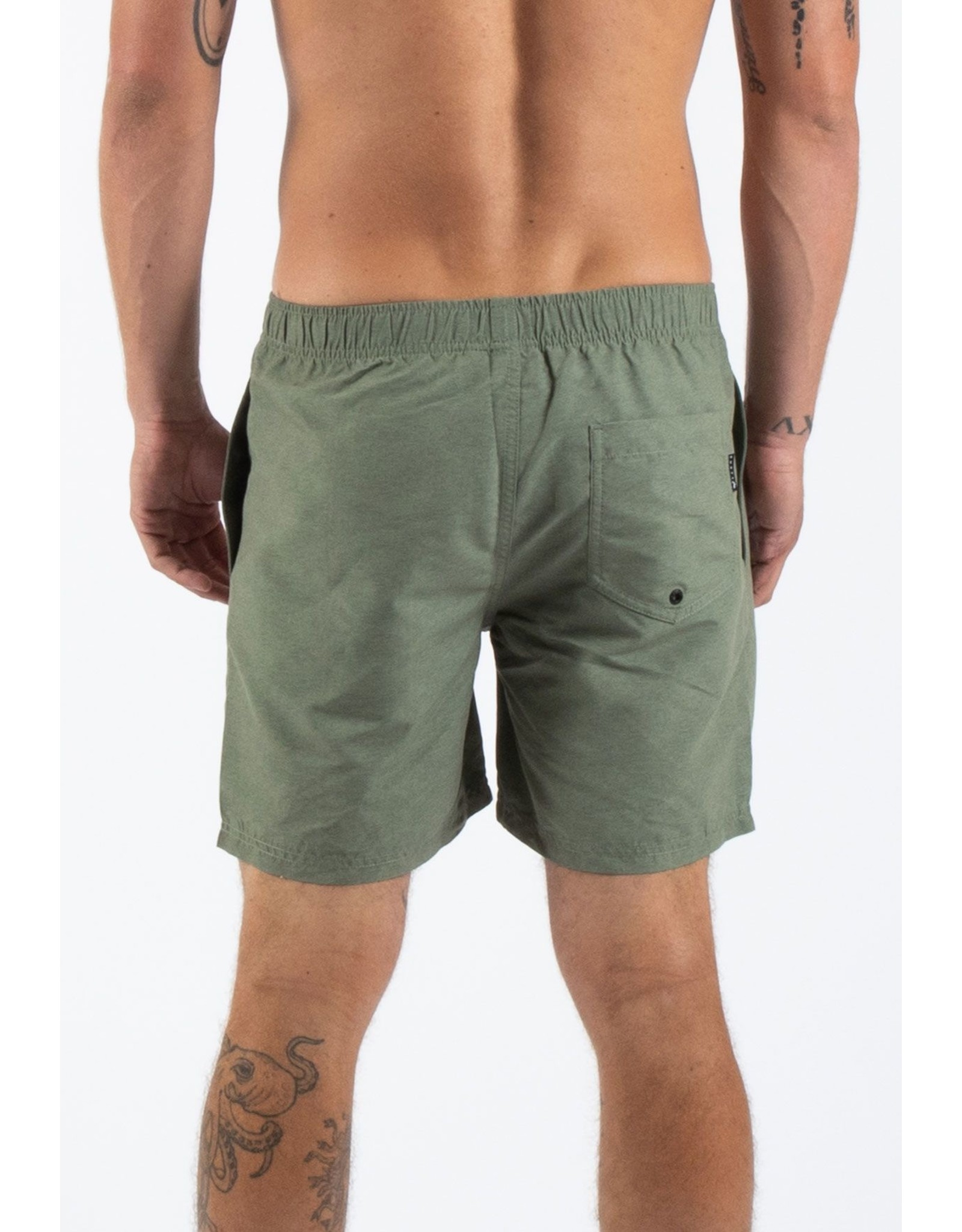 Rusty BASE 17' ELASTIC WAIST BOARDSHORT