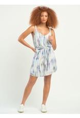 Dex SL PRINTED BELTED DRESS