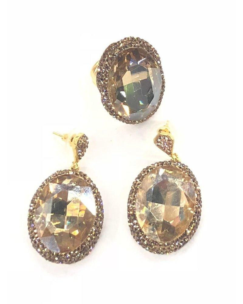 Gold Crystal Set