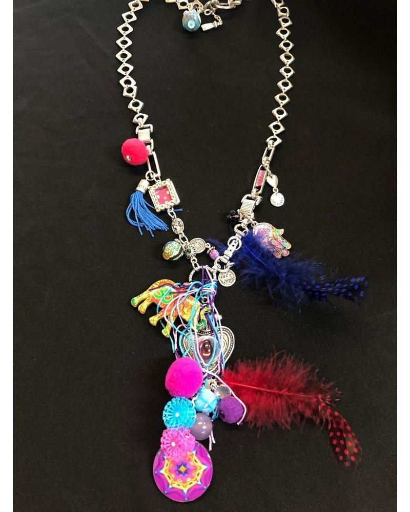 Gypsy Elephant Necklace