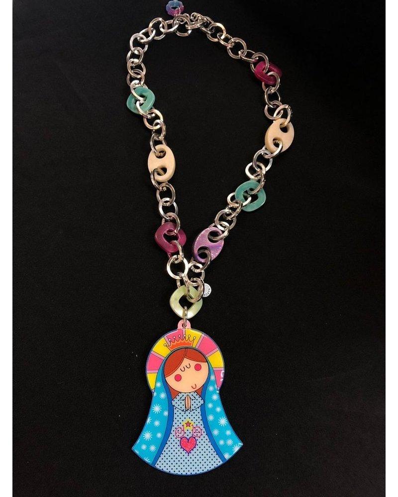 Gypsy Virgen Necklace