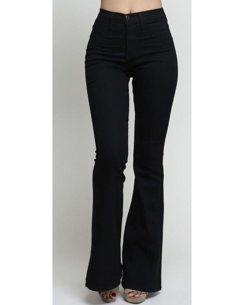 High Waist Black Pant
