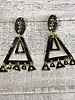 Colombian earrings Gold Plated