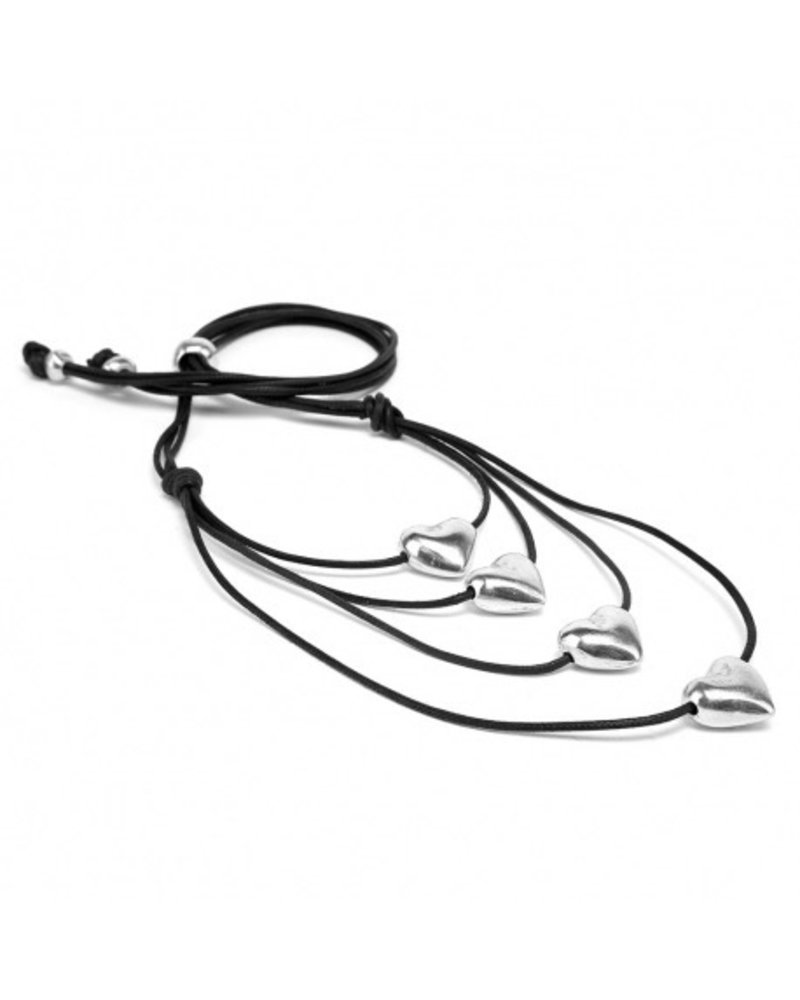 4 HEARTS, Material: 100% recycled aluminium. Nickel tested jewelry.